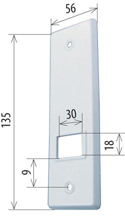 abdeckplatte f r gurtwickler 5 m la 105 mm. Black Bedroom Furniture Sets. Home Design Ideas